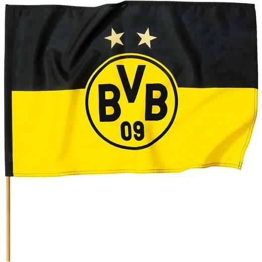 Borussia Dortmund Fahne »BVB Fahne, 150 x 100 cm«