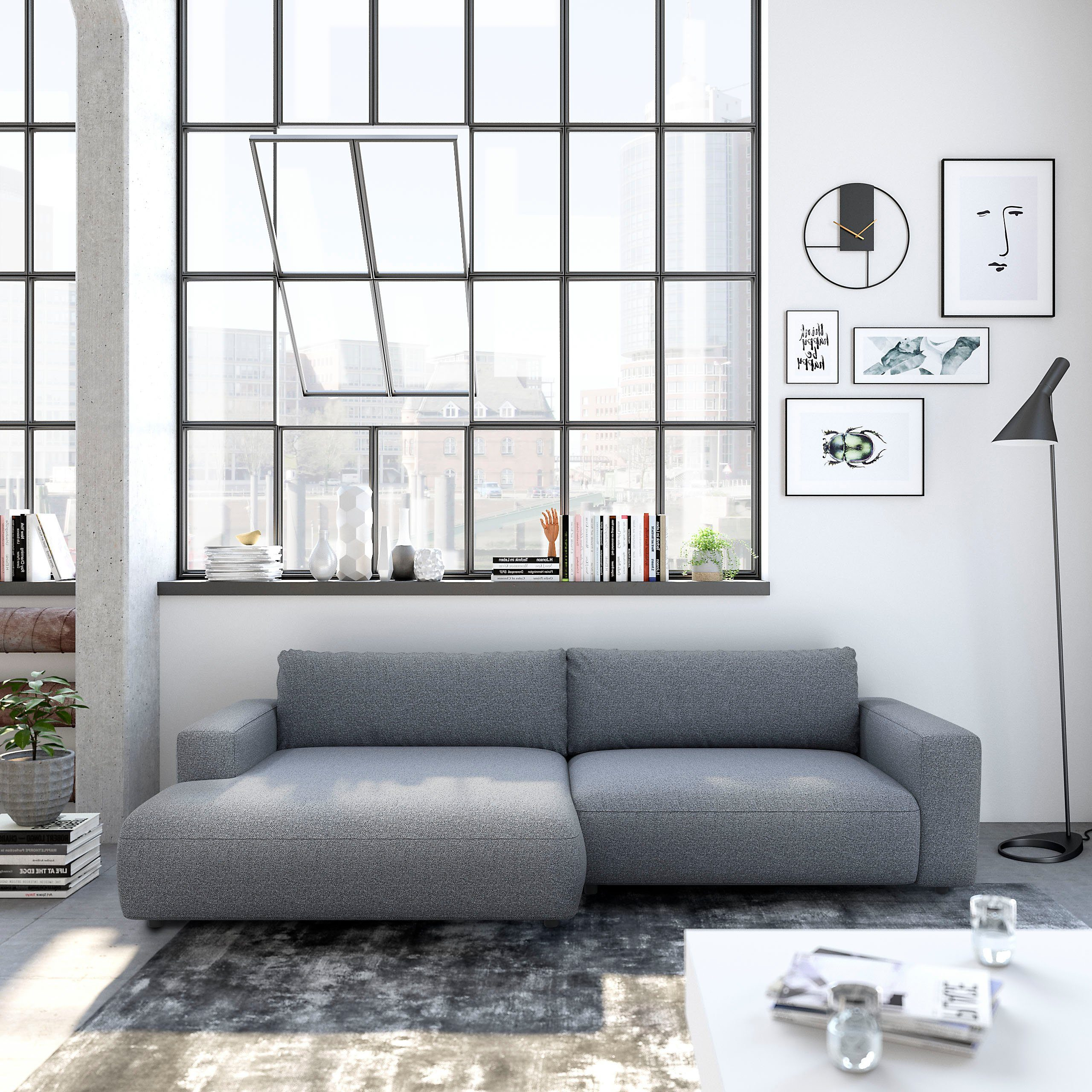 GALLERY M Loungesofa »Lucia Vorschlag 6«, 5 Jahre Hersteller Garantie online kaufen | OTTO