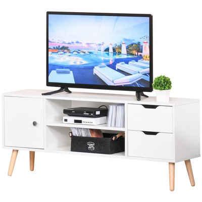 HOMCOM TV-Board »TV Lowboard mit Schubladen«
