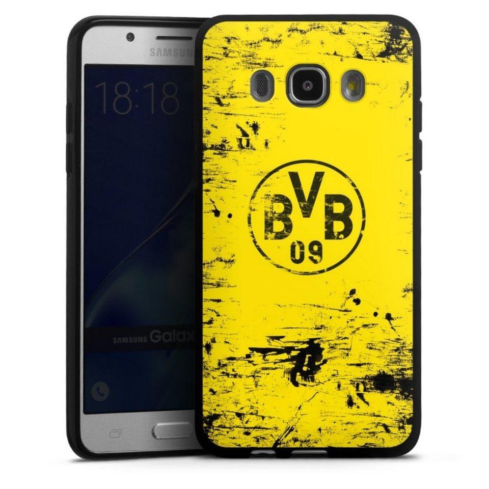 DeinDesign Handyhülle »BVB Destroyed Look« Samsung Galaxy ...