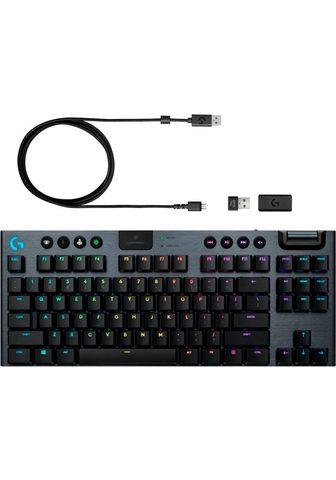 Logitech G »G915 TKL GL Clicky« Gaming-Tastatur