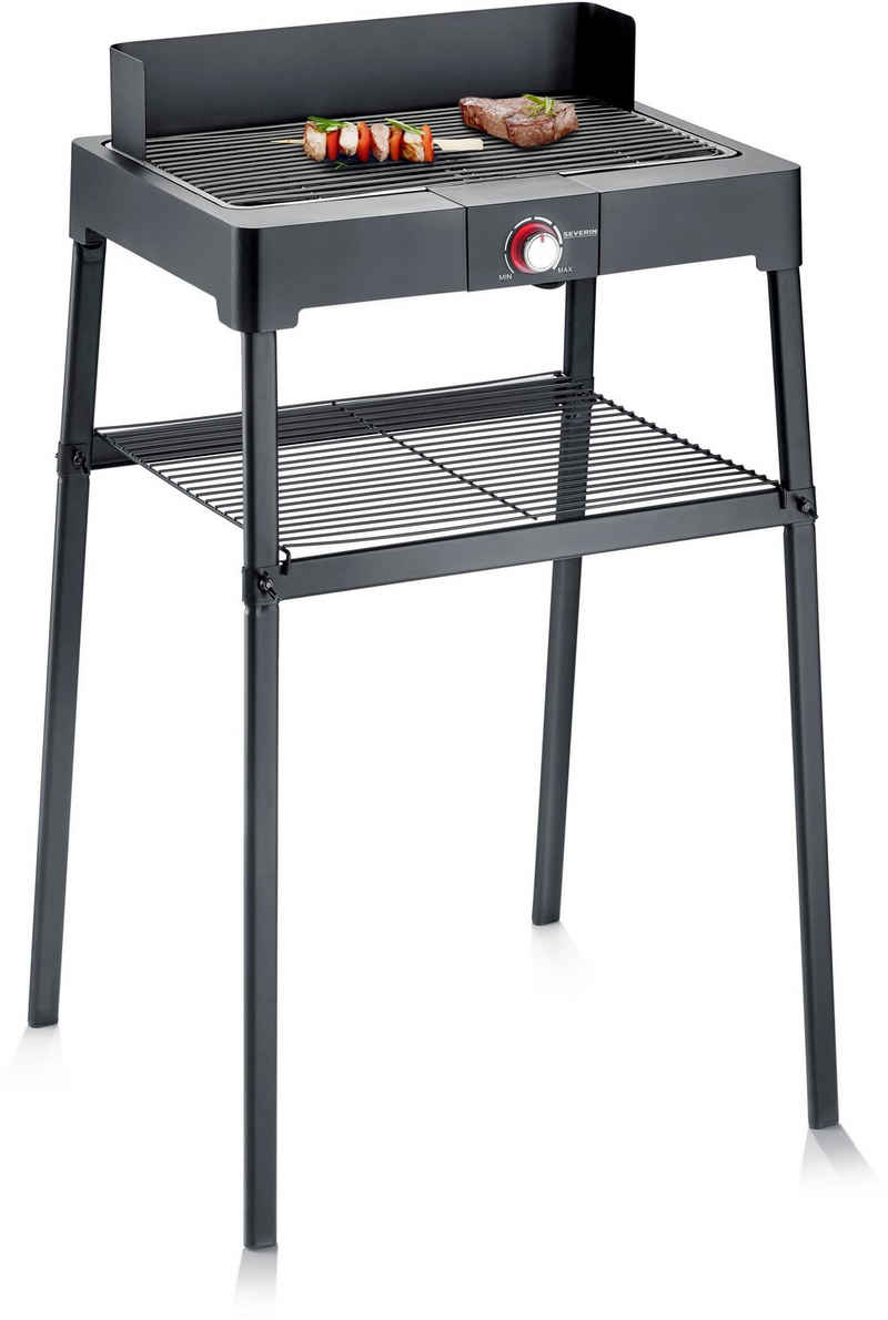Severin Elektro-Standgrill PG 8561, 2200 W, mit Grillrost
