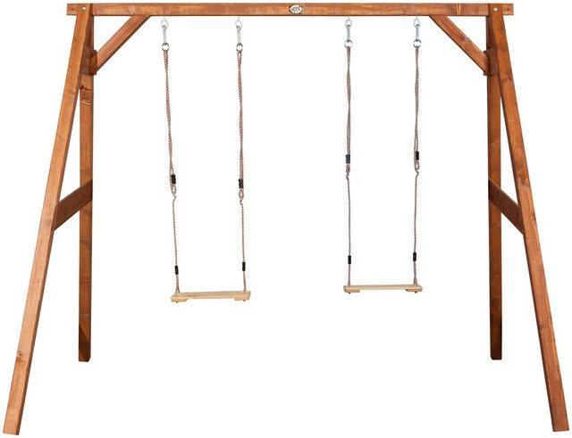 Empfehlung: Stabile Doppelschaukel AXI aus Holz  von AXI*