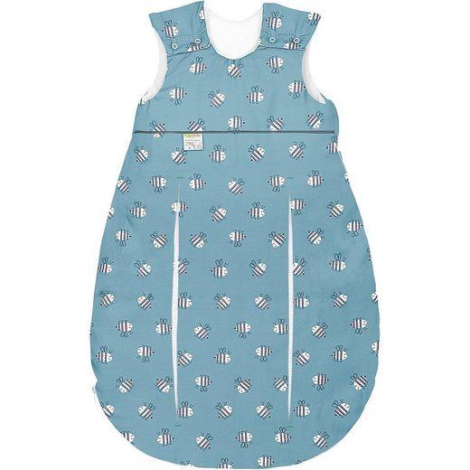 Odenwälder Babyschlafsack »primaklima Jersey-Schlafsack, Bienchen grey«