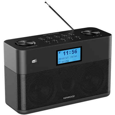 Kenwood »CRST50DABB DAB Radioempfänger schwarz« Digitalradio (DAB) (DAB+ / UKW-RDS)