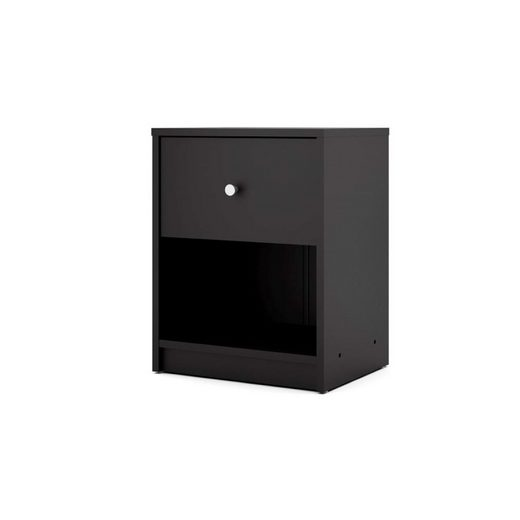 ebuy24 Nachttisch, Nachtkonsole »Maria Nachttisch 1 Schublade und 1 Raum schwarz.«
