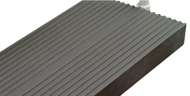 Trimax-Stufe für Außentreppe Gardentop, 100 cm, anthrazit