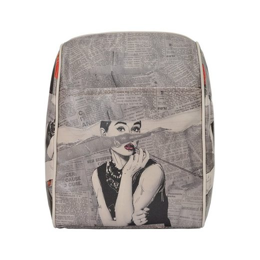 DOGO Tagesrucksack »Go Back To Being Yourself«