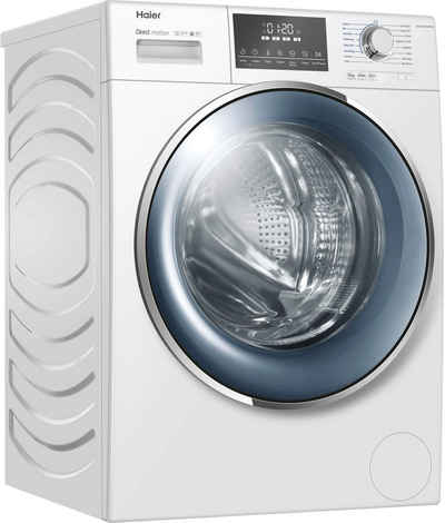 Haier Waschmaschine HW100-B14876N, 10 kg, 1400 U/min