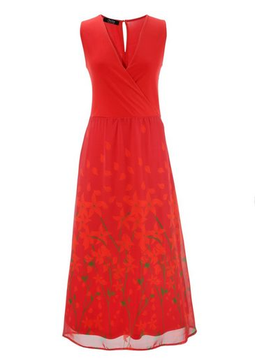 Aniston SELECTED Sommerkleid mit floralem Druck