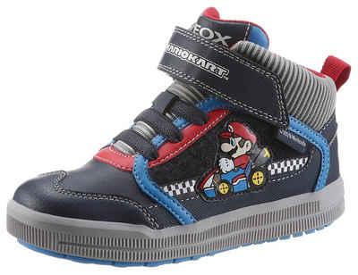 Geox Kids »Super Mario J Arzach Boy« Sneaker mit Mario Kart Motiv