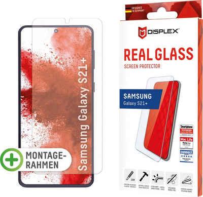 Displex »DISPLEX Real Glass Panzerglas für Samsung Galaxy A12/A32 5G (6,5), 10H Tempered Glass, mit Montagerahmen, Full Cover« für Samsung Galaxy A12/A32 (5G), Displayschutzfolie