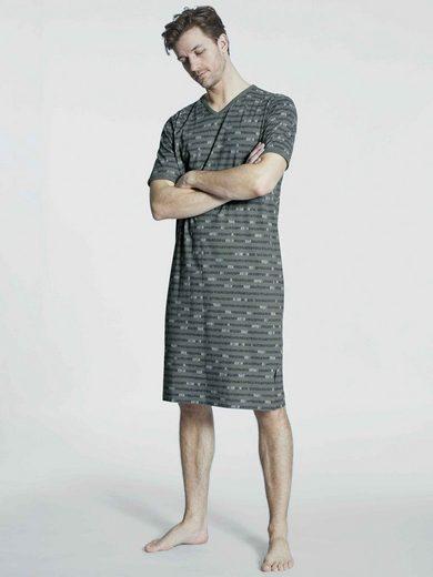 Ringella Nachthemd »Kurzarm-Nachthemd, Länge 110 cm« (1-tlg)