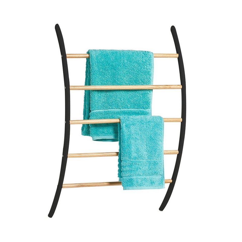 HTI Line Handtuchhalter Bambus Bietet Platz für