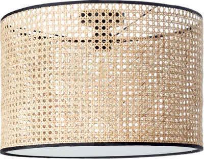 COUCH♥ Deckenleuchte »feines Geflecht«, Deckenlampe mit Wiener Geflecht Schirm Ø 45 cm, Höhe 30 cm, mit Diffusorplatte / Abdeckung an der Unterseite, COUCH♥ Lieblingsstücke