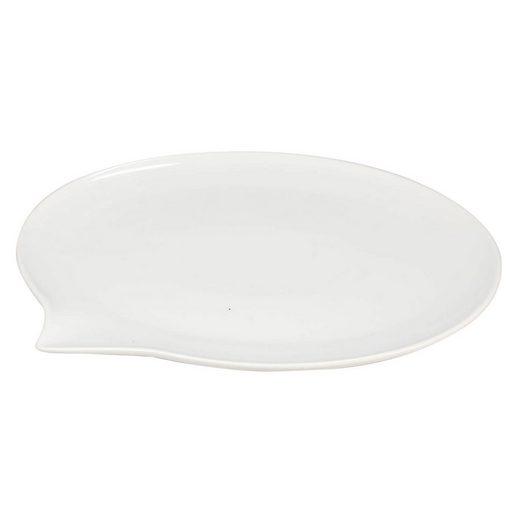 Neuetischkultur Servierteller »Teller Sprechblase«, Keramik