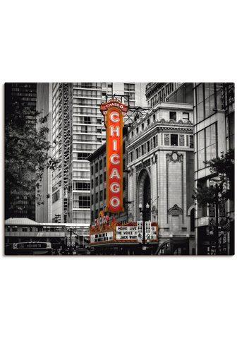 Artland Paveikslas »Chicago I« Amerika (1 vien...