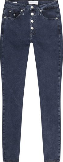 Calvin Klein Jeans Skinny-fit-Jeans »CKJ 010 HIGH RISE SKINNY« mit Knopfver
