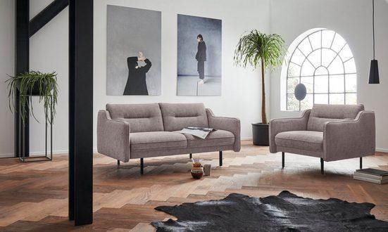 andas 2-Sitzer »Nordfyn«, edles Design in 3 Bezugsqualitäten, Design by Morten Georgsen