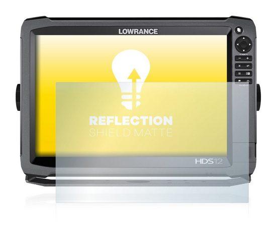 upscreen Schutzfolie »für Lowrance HDS-12 Gen3«, Folie Schutzfolie matt entspiegelt