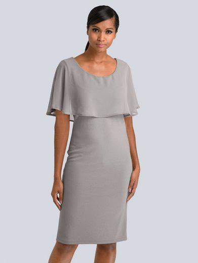 Alba Moda Kleid mit Chiffon-Layer