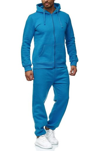 Egomaxx Trainingsanzug »2771«, EGOMAXX No.1 Basic Jogginganzug EGO Baggy Pants & Sweat Hoodie Trainingsanzug