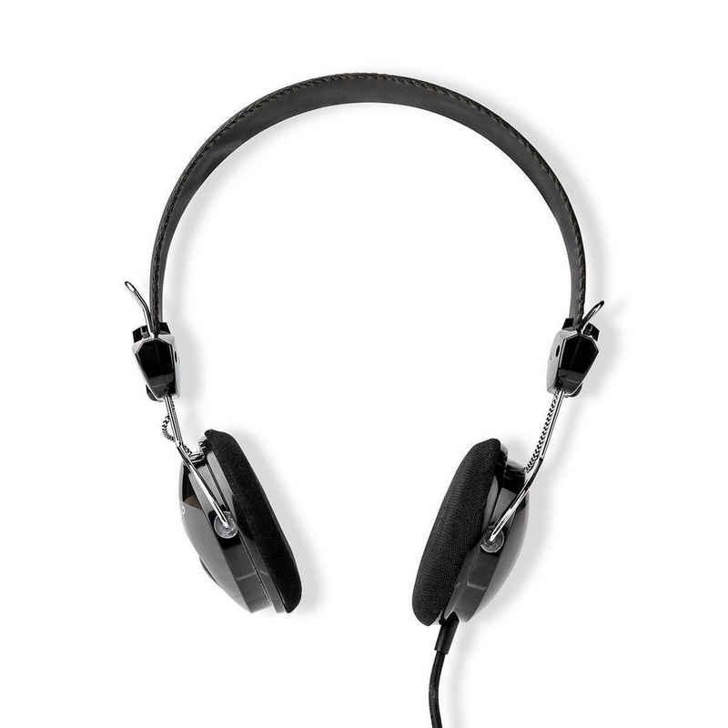nedis »1.10 m, Schwarz« On-Ear-Kopfhörer