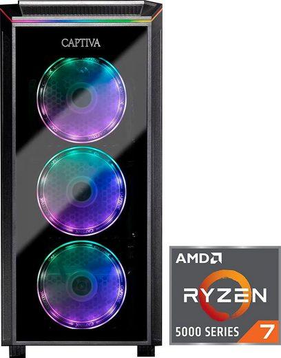 CAPTIVA G19AG 21V2 Gaming-PC (AMD Ryzen 7 5800X, RTX 3080, 16 GB RAM, 1000 GB SSD, Wasserkühlung)