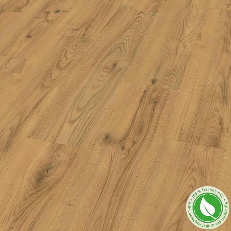 EGGER Designboden »GreenTec EHD023 Timbara Eiche braun«, Holzoptik, Robust & strapazierfähig, Packung, 7,5mm, 2,542m²