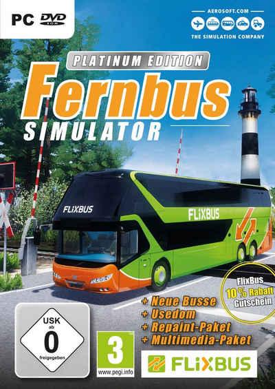 Der Fernbus Simulator Platinum PC