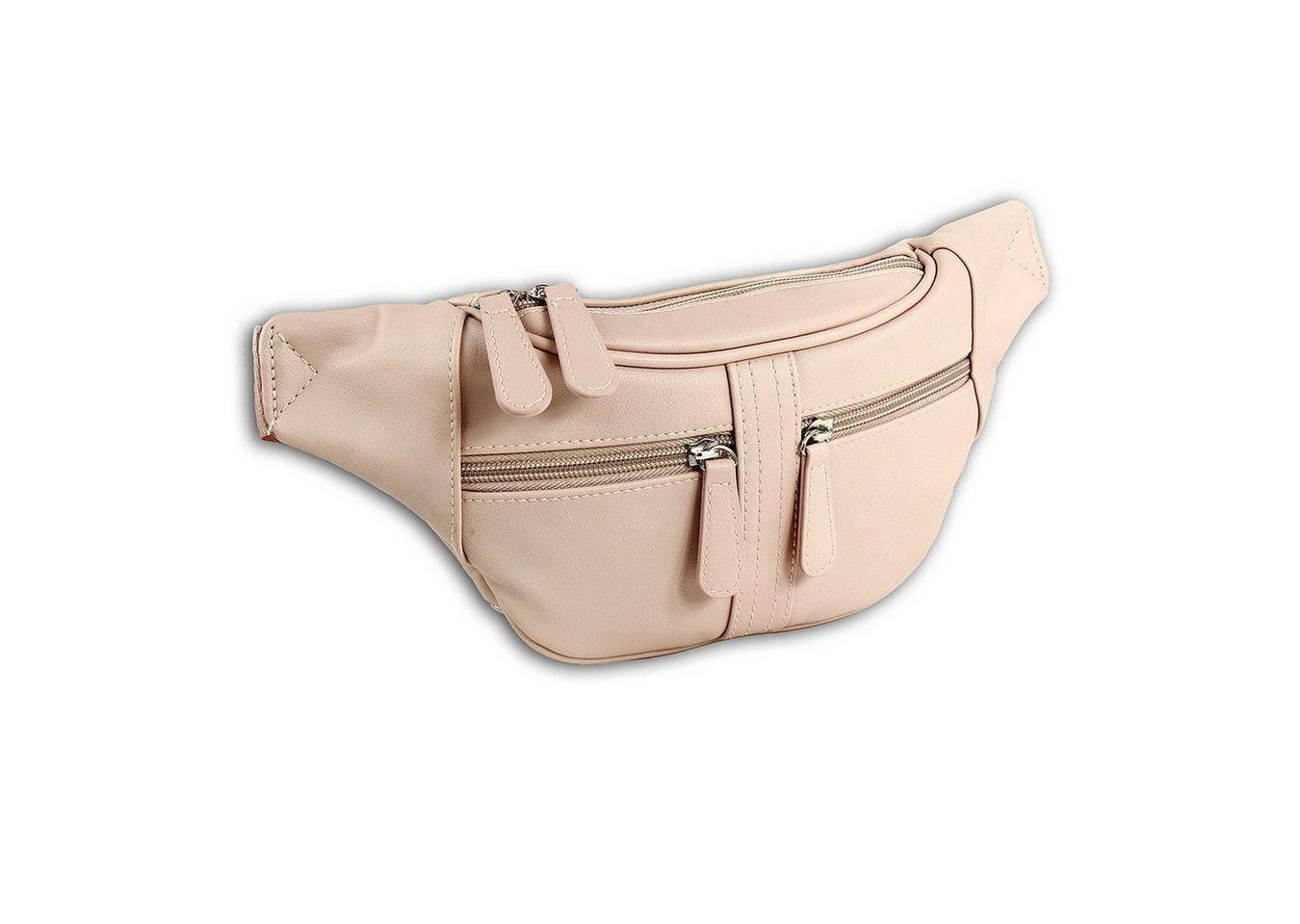 new bags -  Gürteltasche »OTD5023X  Damen Hüfttasche Gürteltasche« (Gürteltasche), Damen, Jugend Tasche nude, ca. 35cm x ca. 5cm