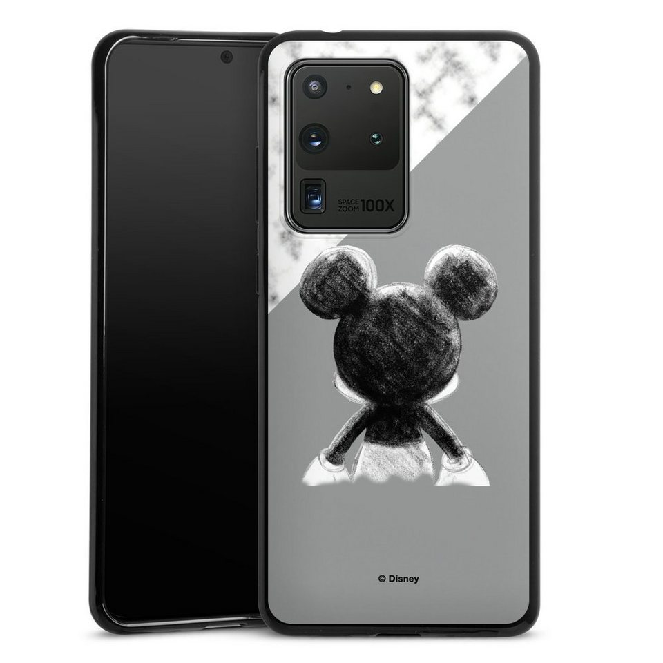 DeinDesign Handyhülle »Mickey Mouse Scribble« Samsung Galaxy S8 ...