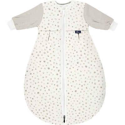 Alvi® Babyschlafsack »Kugelschlafsack Mäxchen Thermo mit Arm Jersey Aqua«