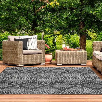 Outdoorteppich »ILLUSION 22162A«, TEPPIA, rechteckig, Höhe 5 mm, Kurzflor, In- und Outdoor geeignet
