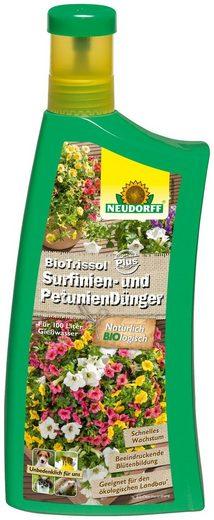 Neudorff Pflanzendünger »BioTrissol Plus Surfinien & Petunien«, Flüssigdünger, 1 l