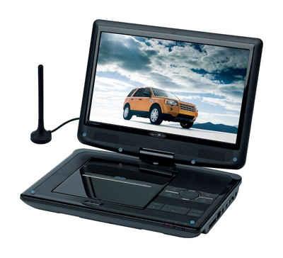 """Reflexion »DVD1017« Portabler DVD-Player (10.1"""" (25,4 cm) TFT/LCD-Bildschirm, Auflösung: 1024 x 600 Pixel (Super High Definition Panel), DVB-T2 HD Tuner, eingebaute Stereolautsprecher, unterstützt DVB-Untertitel, EPG und Videotext)"""