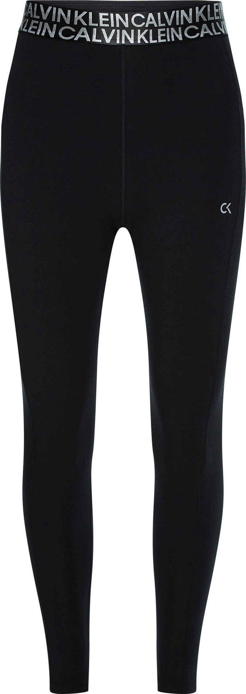 Calvin Klein Performance Leggings »PW - Tight (Full Length)« mit Calvin Klein Elastiktape in der Taille