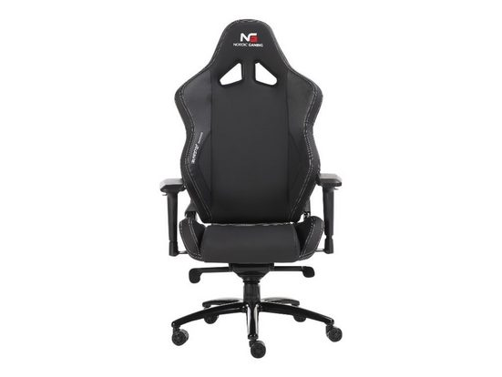 ebuy24 Gaming Chair »Nordic Gaming Heavy Metal Gamin Stuhl schwarz.«
