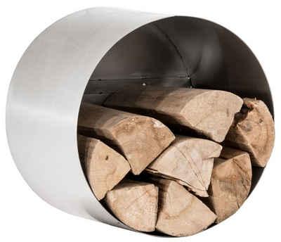 CLP Kaminholzregal »Yuki«, robustes Holzlager aus Edelstahl