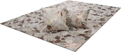 Fellteppich »Scarllet 210«, calo-deluxe, rechteckig, Höhe 8 mm, echtes Rinderfell, Wohnzimmer