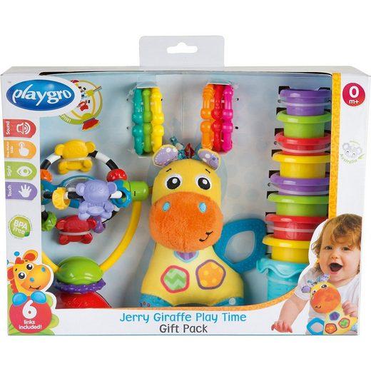 Playgro Motorikwürfel »Giraffe Jerry Spiel- und Geschenkset«