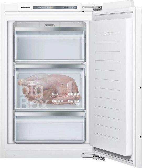 Küchengroßgeräte - SIEMENS Einbaugefrierschrank iQ500 GI21VADE0, 87,4 cm hoch, 55,8 cm breit  - Onlineshop OTTO