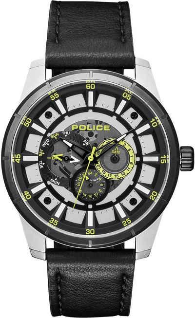 Police Multifunktionsuhr »LAWRENCE, PL15410JSTB.04«