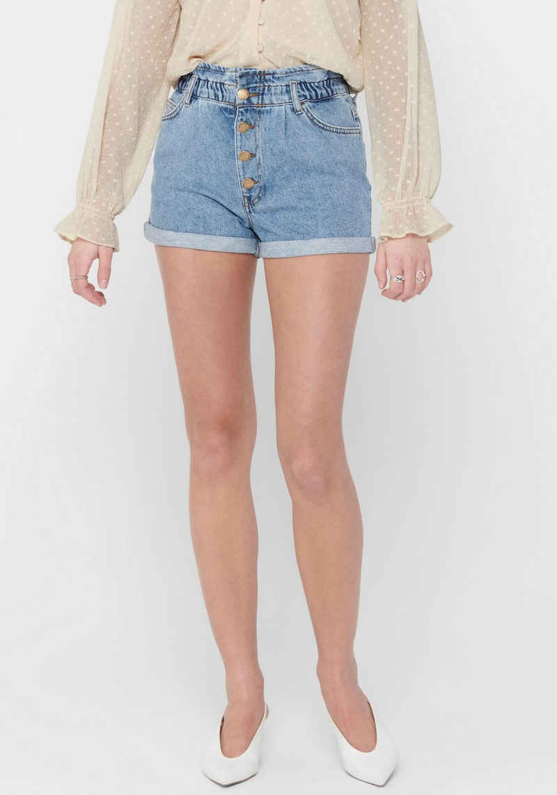 Only Shorts »ONLCUBA LIFE PAPERBAG«