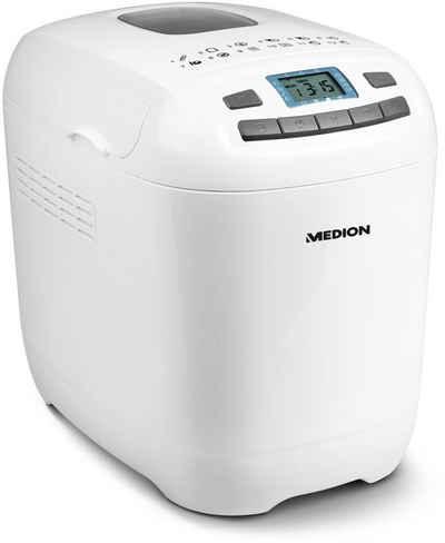 Medion® Brotbackautomat MD 18636 / 50063510, 12 Programme, 650 W
