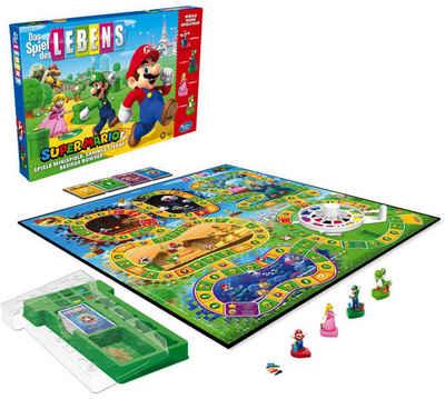 Hasbro Spiel, Gesellschaftsspiel »Das Spiel des Lebens Super Mario«, Made in Germany