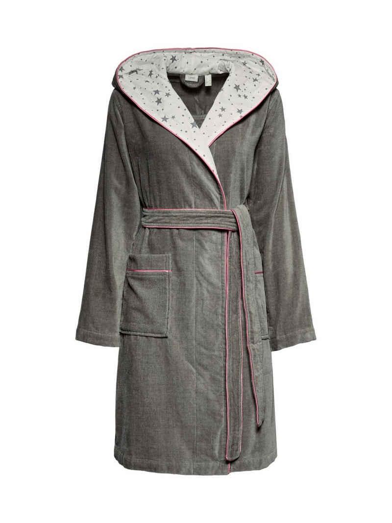 Damenbademantel »Velours-Bademantel, 100% Baumwolle«, Esprit
