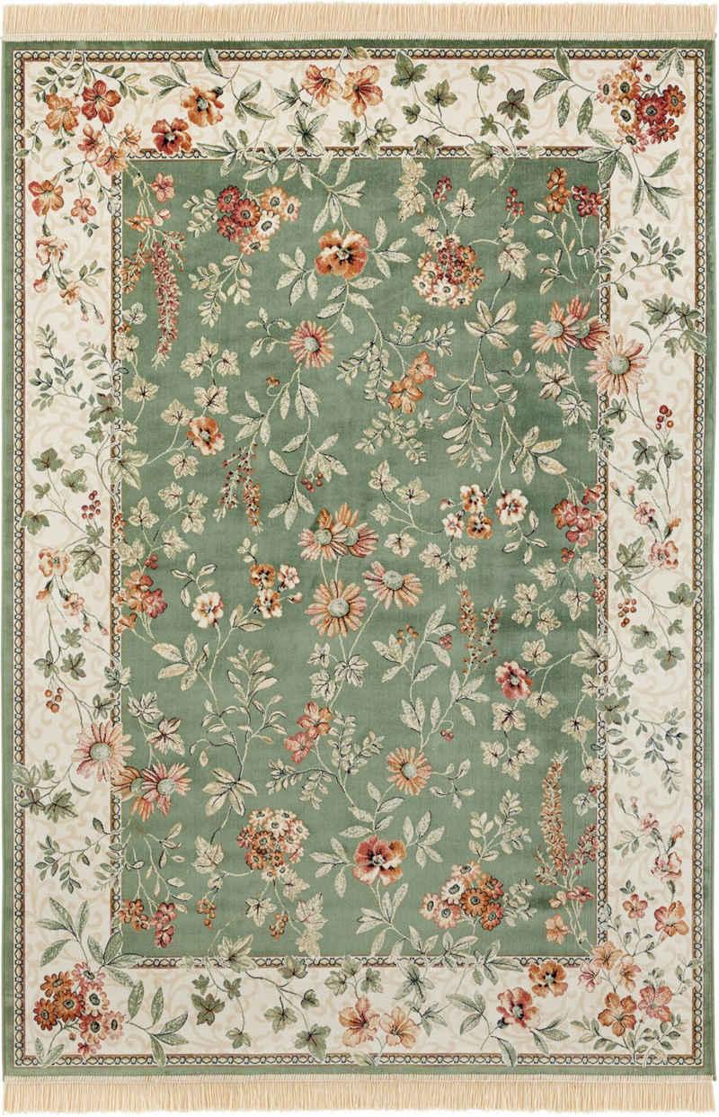 Teppich »Orient Flowers«, NOURISTAN, rechteckig, Höhe 5 mm, Wohnzimmer