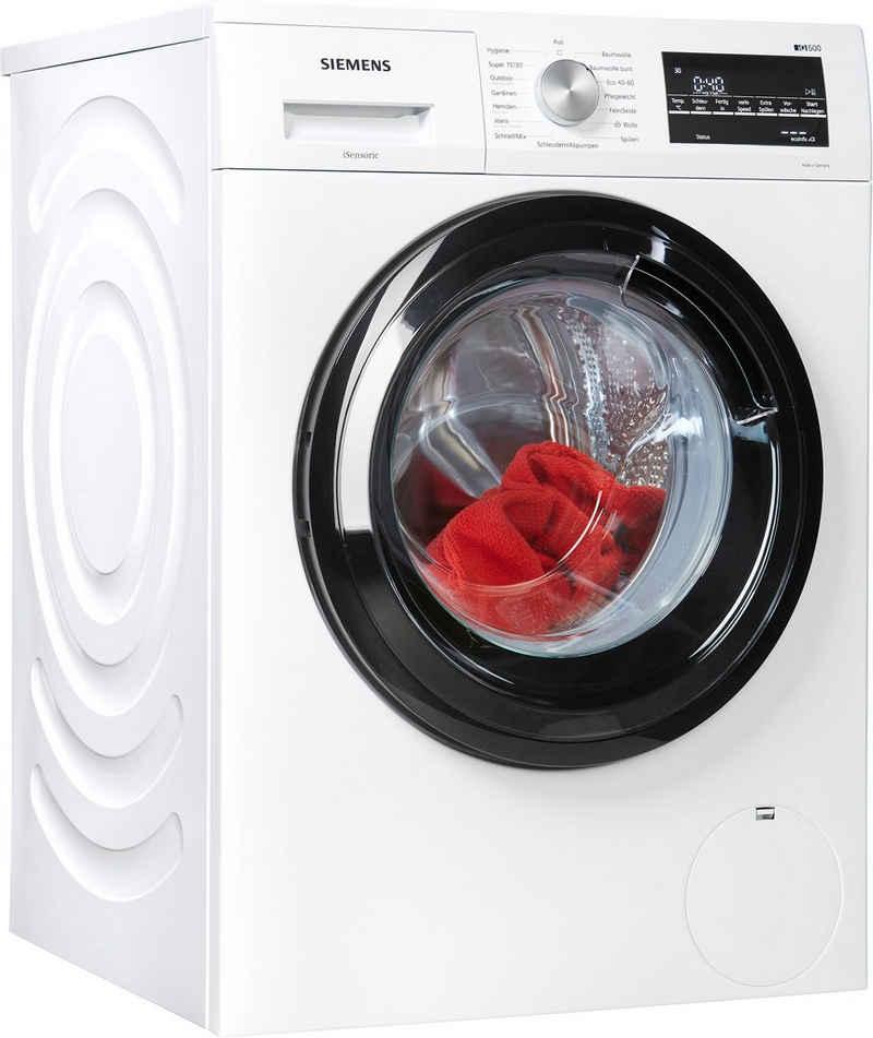 SIEMENS Waschmaschine iQ500 WM14G400, 8 kg, 1400 U/min