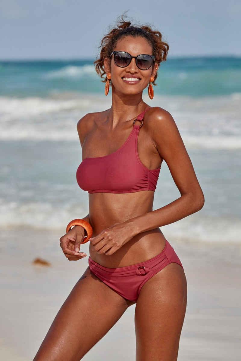 s.Oliver Bikini-Hose »Rome«, mit Ziergürtel